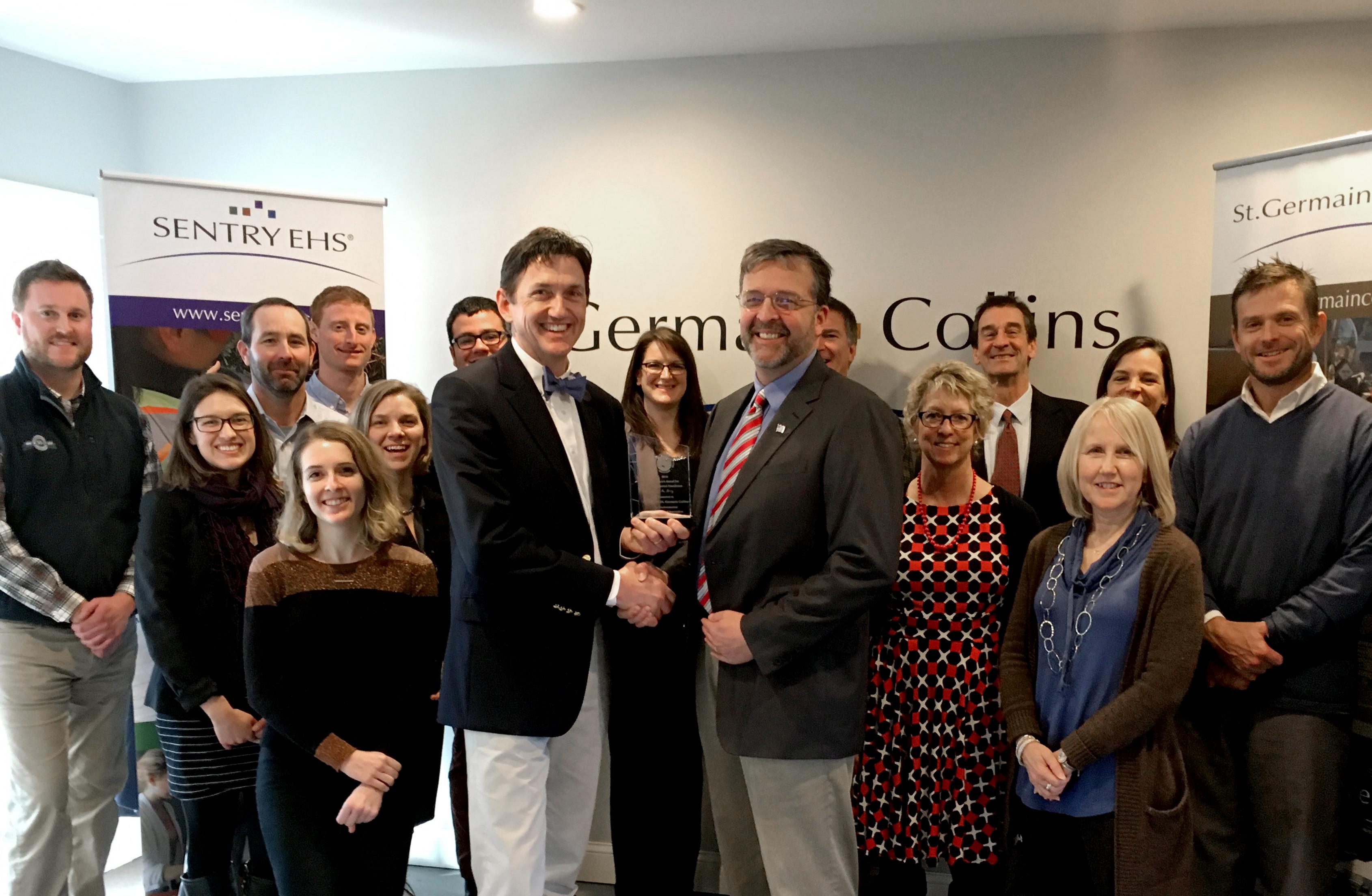 Governor's Award Photo